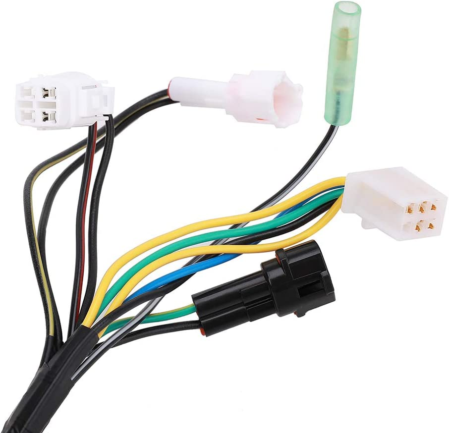 Wiring Harnesses Lightswitch ON/OFF Plugs Complete Replacement ...