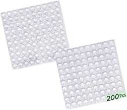 Clear Rubber Feet Adhesive Bumper Pads -200 Pcs for Cabinet Doors,Drawers,Glass Tops,Picture Frames,Cutting Boards Self Stick Bumpers Sound Dampening -MOZOALND