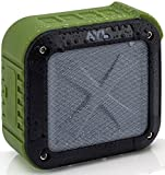 Bluetooth Speakers, Portable Wireless Shower Speaker, Waterproof IPX6, Shockproof, Loud Bass Volume with Small Durable Design, Perfect for Bathroom, Travel, Car, Home by AYL SoundFit (Forest Green)