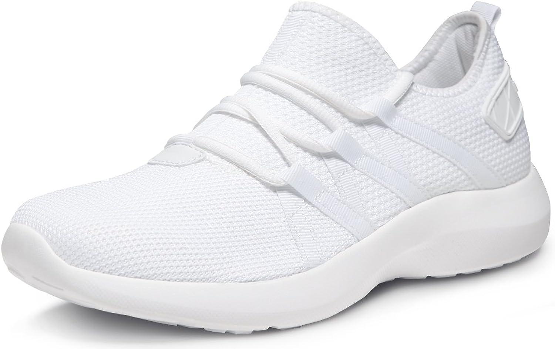 TF-X735-WHT_Men 11 D(M) Tesla Unisex Boost Slip-on Design Running Walking Sneakers Performance shoes X735