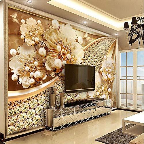 muurschildering muur muurschilderingen bloem diamant muur gespecialiseerd in de productie van grote schaal achtergrond muurdecoratie behang muurschildering About 300 * 210cm 3 Stripes