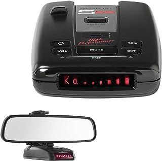 Escort Passport S55 High Performance Radar /Laser Detector with RadarMount Car Mirror Mount Bracket For Radar Detectors