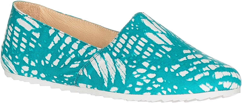 Maison Martin Margiela Women's Canvas Floral Print Flats Slippers shoes