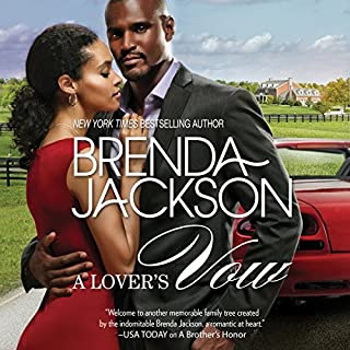 A Lover's Vow audiobook cover art