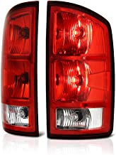 [For 2002-2006 Dodge RAM 1500 2500 3500 Pickup Truck] OE-Style Red Lens Tail Light Lamp Assembly w/Circuit Board, Driver & Passenger Side