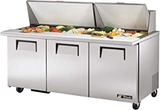 True Mega-Top S/S 19 Cu Ft 30-Pan Top Sandwich/Salad Unit