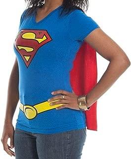 Supergirl DC Comics Cape Juniors T-Shirt