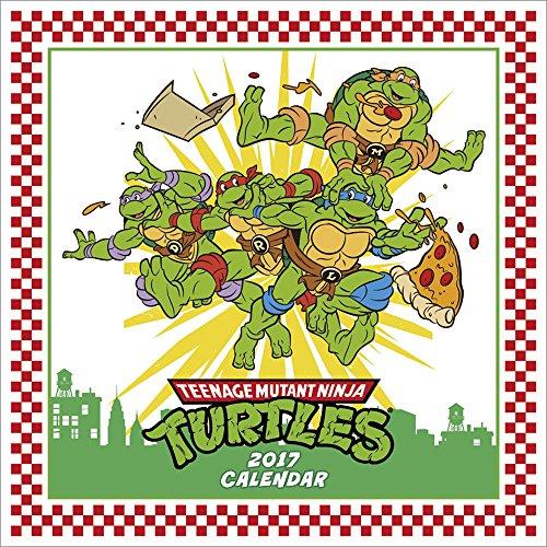 Teenage Mutant Ninja Turtles 2017 [Japan Calendar] 17CL-0804