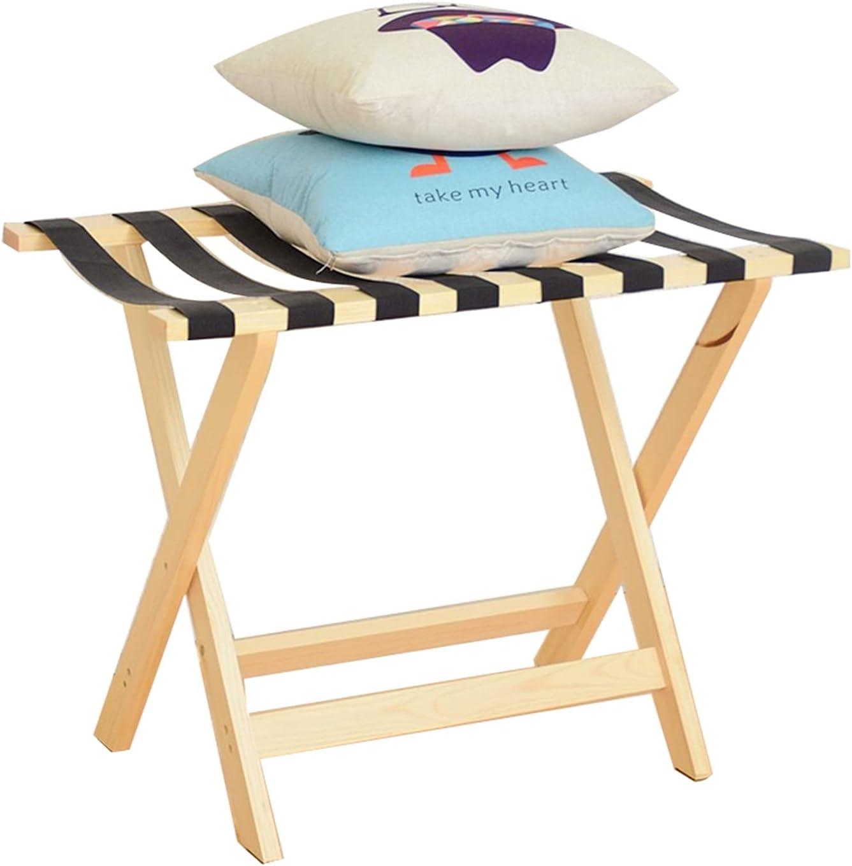 ZXFF Wooden Luggage Rack Foldable Bracket Seasonal Wrap Introduction Suitcase Industry No. 1
