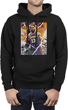 ce2b5a27 SDHAK Los Angeles Lakers Lebron-Cool-James Collage Poster Men's Fleece  Hoodies School Pullover