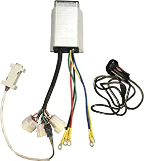 QSMOTOR Motor Controller QSKL48101X 24V-48V 110A Mini brushless DC Controller for Electric Bicycle Hub Motor