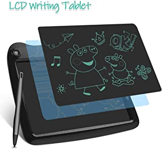 LCD Writing Tablets, Drawing Doodle Board 9 Inch Digital eWriter for Kids Portable Electronic Graphics Black