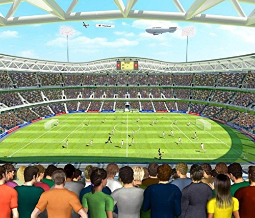 Walltastic Fototapete Fussball-Stadion