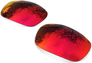 sunglasses restorer Lentes Polarizadas de Recambio Ruby Red para Oakley Split Jacket