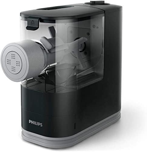 Philips HR2371/05 Compact Pasta and Noodle Maker, Black (Renewed)