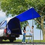 HUKOER Tiendas de campaña para Camión Capa Doble Impermeable 160 * 170 * 170 cm Carpa para Pesca Campaña con Piso y Toldo