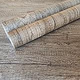 Decorflix Vinilo Papel Adhesivo para Muebles Para forrar amarios mesas estanterías paredes puertas. Vinilo Imitacion Madera Vintage Decorativo Autoadhesivo (Roble Ceniza, 60x300cm)