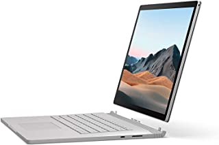 Microsoft Surface Book 3, Intel Core i5-1035G7, 13.5 inch, 8GB RAM, 256GB SSD, Intel Iris Plus Graphics, Win10, Platinum C...