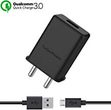 ShopReals Turbo Power 3.0 Charger for Xiaomi Redmi Note 5 AI Dual Camera, Xiaomi Redmi Note 5, Xiaomi Redmi Note Five, Xiomi Mi Note 5, redmi Note 5, Mi Note 5, Mi Note5