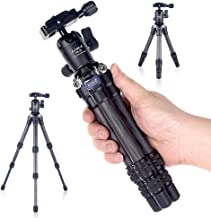 AOKA 15.7in/0.97lb Lightweight Compact Carbon Fiber Tripod with 360° Ballhead Travel Mini Tripod for Mobile Phone and Comp...