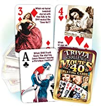 Flickback Media, Inc. 1940's Movies Trivia Playing Cards: 70th or 75th Birthday