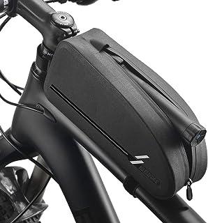 バイクトップチューブバッグ 自転車フレームバッグ 防水マウンテンロードBMXバイク用 サイクリングアクセサリー