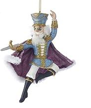 Kurt Adler Resin Nutcracker Prince Ornament