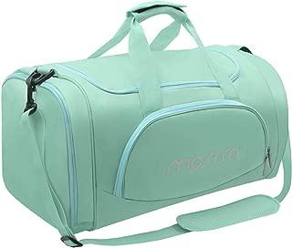 mint green duffle bag