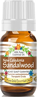 Pure Gold New Caledonia Sandalwood Essential Oil, 100% Natural & Undiluted, 10ml