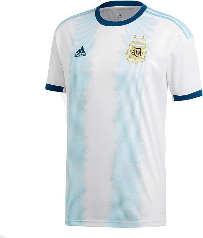 adidas Kid's AFA Argentina Home Soccer Jersey