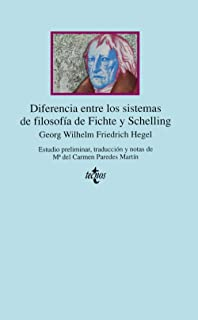 Diferencia entre los sistemas de filosofía de Fichte y Sche