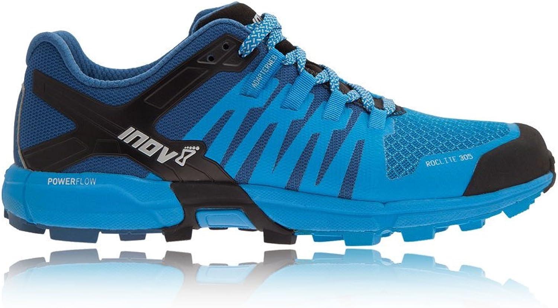 Inov8 Roclite 305 Trail Running shoes UK 9 bluee Dark bluee Black