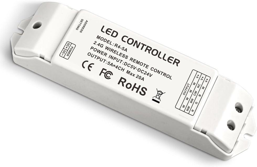 LEDENET 2.4G Wireless National uniform free shipping Remote Atlanta Mall receiving RF Constant Vo Controller