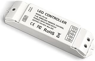 LEDENET 2.4G Wireless Remote receiving Controller RF Constant Voltage Receiver DC 5V 12V 24V 20A for Single Color RGB CW/WW RGBW RGBWW LED Strip Tape Lights (R4-5A CV Receiver)