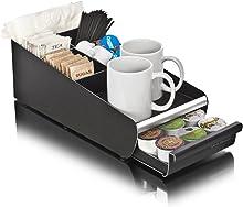 Mind Reader VESTA-BLK Condiment Storage K-Cup Single Serve Coffee Pod Drawer, One Size, Black Organizer