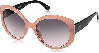 4a1eb572cb Jessica Simpson J5730 Rsox - anteojos de sol redondas de iridio no  polarizadas, color oro