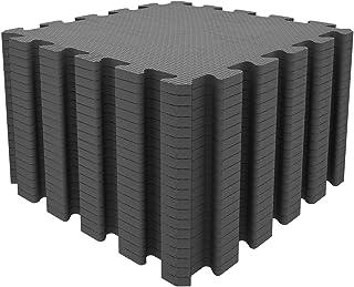 Sponsored Ad – Mocosy 1' x 1'(30cm x 30cm) Interlocking Floor Mats Protective Flooring Mats Puzzlemat Soft Foam Mat  Play ...