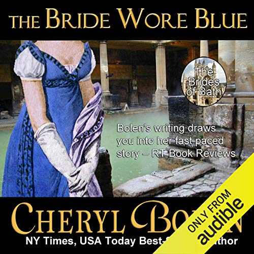 The Bride Wore Blue Audiobook By Cheryl Bolen cover art