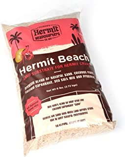 Fluker's Hermit Beach Sand Substrate for Crabs
