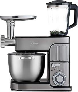 DMS® Germany 3 in 1 Kitchen Machine - Silver & 2300 Watts Model - KMFB-2300