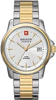 Swiss Military Hanowa - Reloj Analógico para Hombre de Cuarzo con Correa en Acero Inoxidable 06-5044.1.55.001