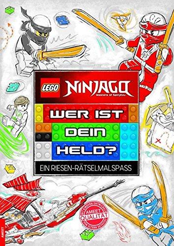 LEGO Ninjago: Wer ist dein Held? (Ein Riesen-Rätselmalspaß)