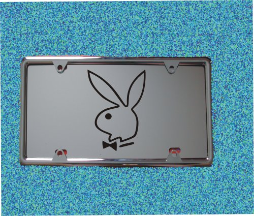 HotSpotBuys Playboy Bunny Engraved License Plate W/Free Frame