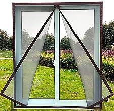 DIY gepersonaliseerd snijden Insectenruitscherm Rits opening en sluiten Zelfklevende Mosquito-proof Net Indoor Fly Gordijn...