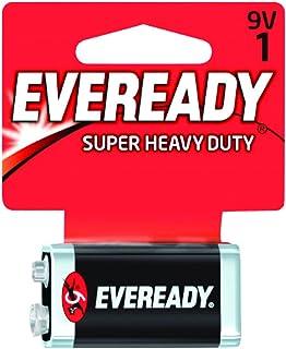 Eveready Battery 9v Super Heavy Duty Black