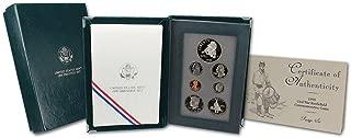 1995 US Mint Prestige Proof Set 7 Coins Including Civil War Commemorative Dollars