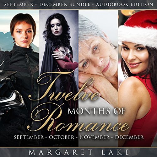 Twelve Months of Romance (September, October, November, December) audiobook cover art