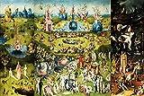 1art1 El Bosco - El Jardín De Las Delicias, 1500 Póster Impresión Artística (60 x 40cm)