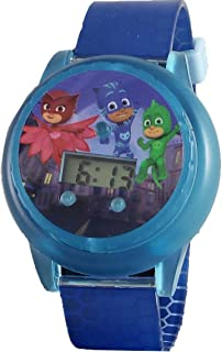 PJ Masks Kid's Digital Spinner Light Up Watch Collector's Edition