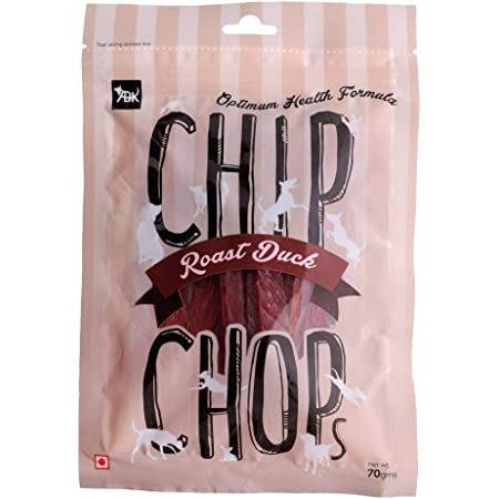Chip Chops Dog Treat Pack of 12 (Roast Duck Strips) (Single Pack)